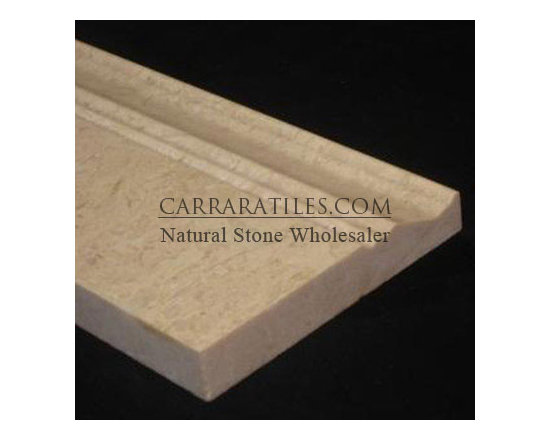 """Crema Marfil Marble 3/4"""" Baseboard Molding Polished - Crema Marfil 3/4"""" Marble Baseboard. Premium grade 3/4"""" Crema Marfil Marble Baseboard is perfect for both residential and commercial projects. Crema Marfil 3/4"""" Marble Baseboard Tiles are mainly used as a finishing touch with the installation of marble tiles on the floor or the wall. A large selection of coordinating products are available, including Crema Marfil basketweave mosaics, Crema Marfil herringbone mosaics, Crema Marfil hexagon mosaics, 3x6 Crema Marfil marble subway tiles, 4x4 Crema Marfil marble tiles, 6x6 Crema Marfil marble tiles, 18x18 Crema Marfil marble tiles, 12x12 Crema Marfil marble tiles, Crema Marfil borders and Crema Marfil moldings, each available in polished finish"""