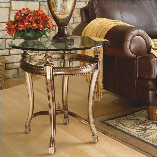 Suffolk Bay End Table in Antiquity modern-side-tables-and-accent-tables