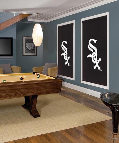Chicago White Sox Major League Baseball Roller Shades - Roller Shades ...