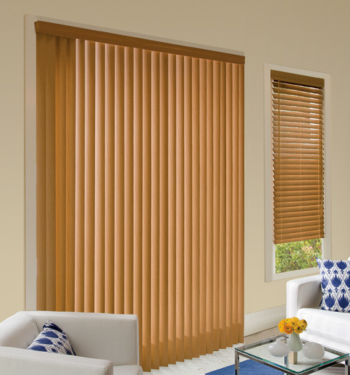 Levolor Faux Wood Vertical Blinds Visions Contemporary