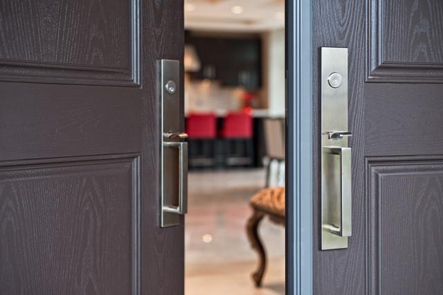 Emtek - Lausanne Front Entry Set contemporary-door-hardware