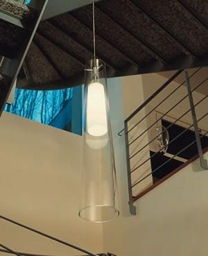 Tower pendant light modern-pendant-lighting
