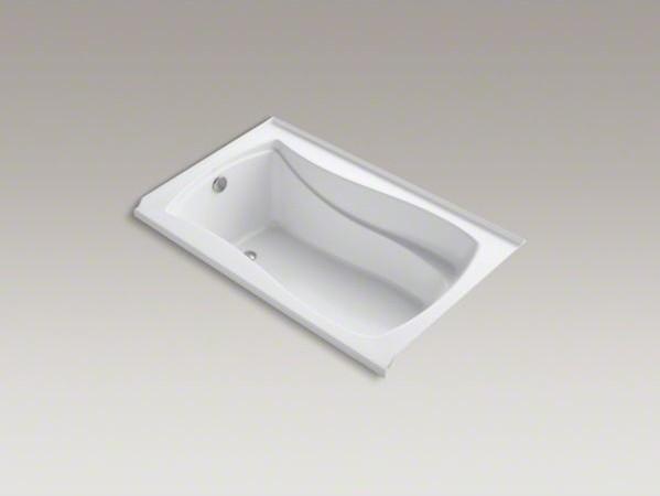 """KOHLER Mariposa(R) 60"""" x 36"""" alcove VibrAcoustic(R) bath with Bask(TM) heated su contemporary-bathtubs"""