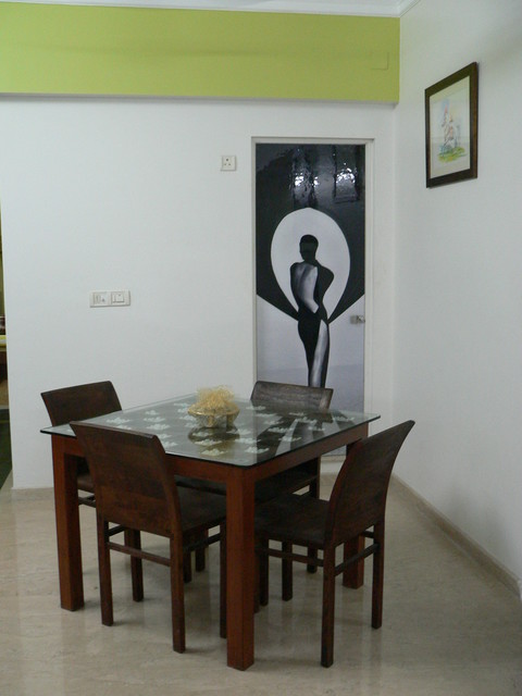 Dilip  Residence contemporary-dining-room