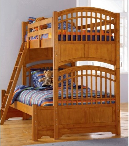 Build-A-Bear Bearrific Twin over Full Bunk Bed traditional kids beds