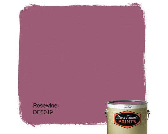Dunn-Edwards Paints Rosewine DE5019 -