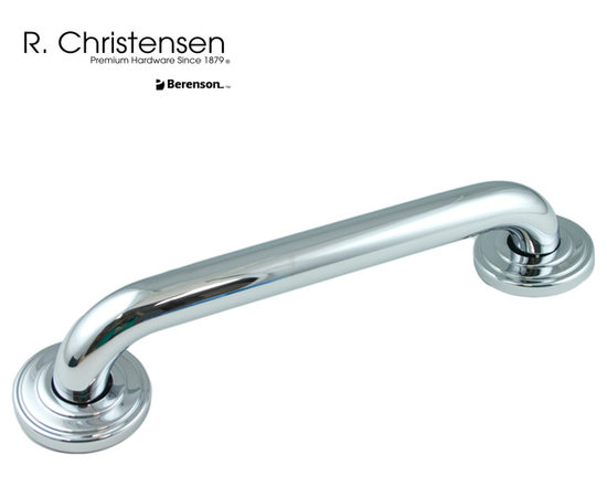 6412US26 Polished Stainless Steel Grab Bar by R. Christensen - 15-3/16 inch long grab bar by R. Christensen in Polished Stainless Steel.