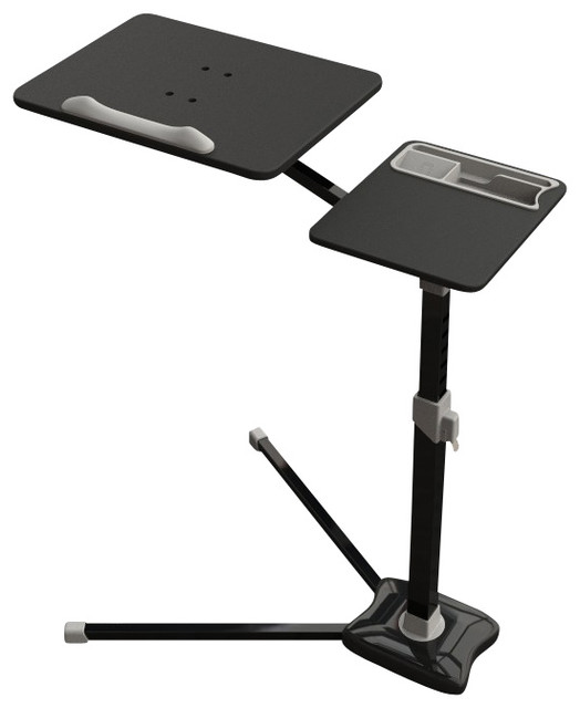 Laptop Stand Computer Desk V Shape Stable Metal Bottom