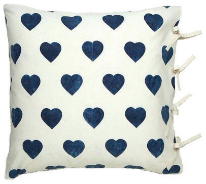 contemporary pillows by Les Indiennes