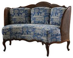 Pompadour Banquette traditional-sofas