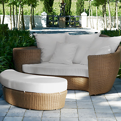 Buy Barlow Tyrie Dune Day Bed modern outdoor chaise lounges
