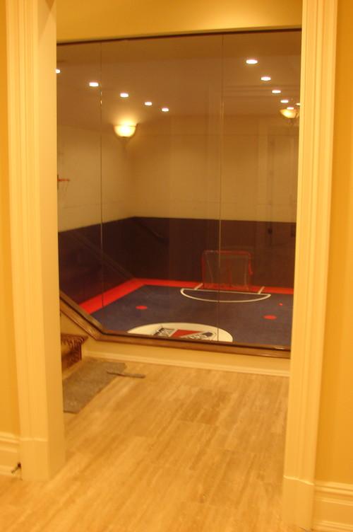 Basement sport court for Basement sport court