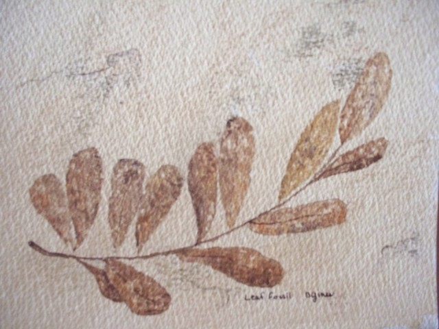 """""""Plant Leaf Trace Fossil"""" Artwork contemporary-originals-and-limited-editions"""