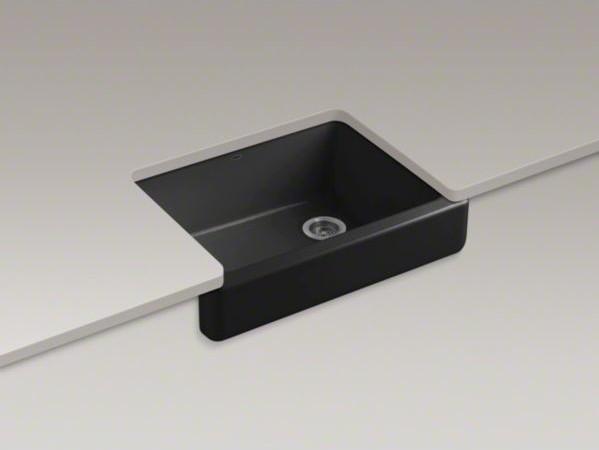"""KOHLER Whitehaven(R)Self-Trimming(R) 29-1/2"""" x 21-9/16"""" x 9-5/8"""" under-mount sin contemporary-kitchen-sinks"""