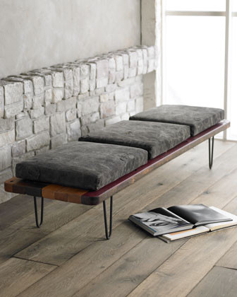"""Tarp"" Bench contemporary-indoor-benches"
