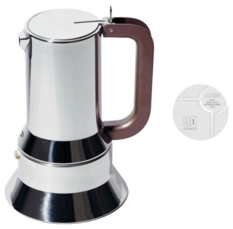 90th Ann. Limited Edition Richard Sapper Stovetop Espresso modern-coffee-and-tea-makers