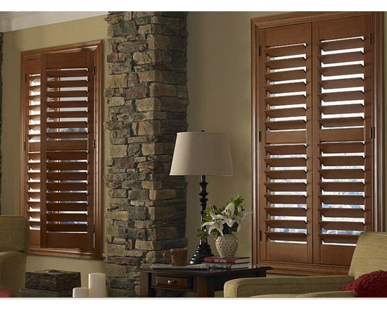 Window Shutters- 3 Day Blinds Living Room -