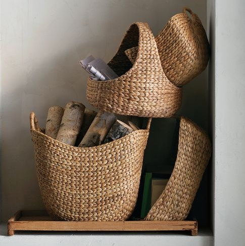 Curved Basket Collection  baskets