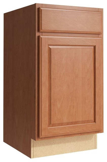 Cardell Cabinets Salvo 18 In W X 34 In H Vanity Cabinet Only In Caramel Contemporary