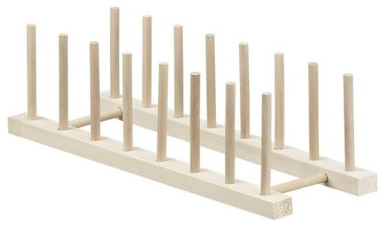 wooden plate rack ikea 2