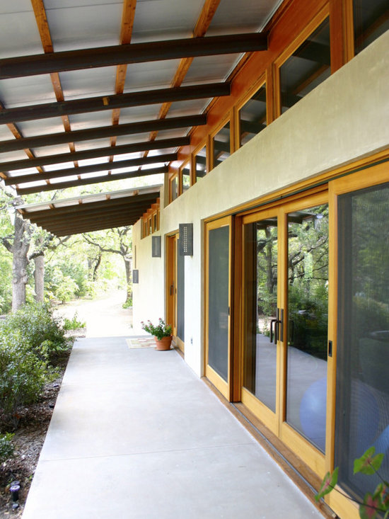 Quantum Windows & Doors | Patrick Alexander Architects - Patrick Alexander Architect | Hocker Design Group (Landscape Architect) | Grapevine, TX | Featuring Signature Series Windows, Lift & Slide Doors, Hinged Doors in Douglas Fir with Teak Door Sills