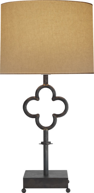 QUATREFOIL TABLE LAMP traditional table lamps