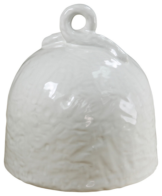 Hand-thrown Cheese/Cake Dome contemporary-serveware