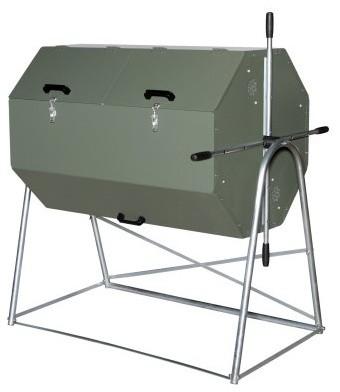 Joraform 106 gal. 400 Compost Tumbler modern-trash-cans