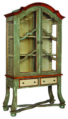 Cottage Display Cabinet contemporary-furniture