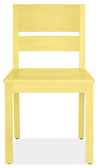 Afton Yellow Chairs - Chairs - Dining Spaces - Room & Board traditional-dining-chairs