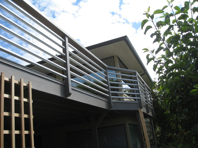 Aluminum Pipe Railing Outdoor Products Seattle By