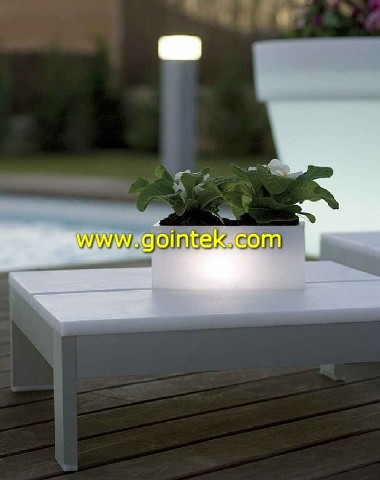 Bright Color Flower Pot modern-outdoor-planters