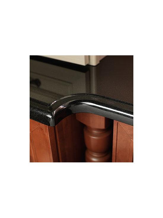 DeNova® Countertop - DeNova® countertop in Absolute Black Granite.