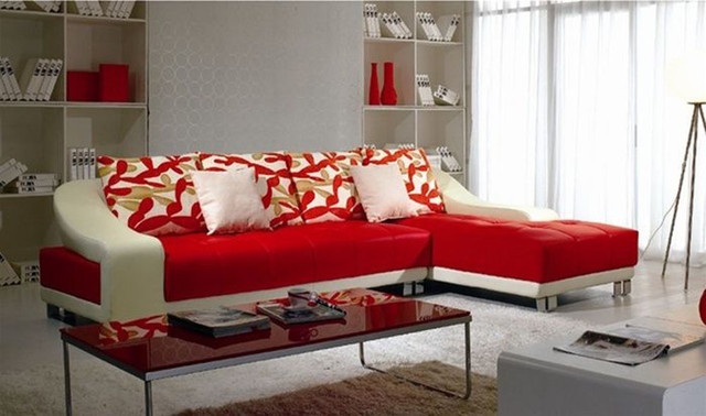 Contemporary Modern Genuine Italian Sectional