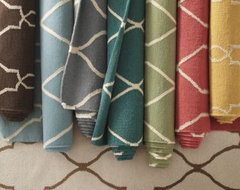 Bogart Flat-Weave Wool Rug contemporary-rugs