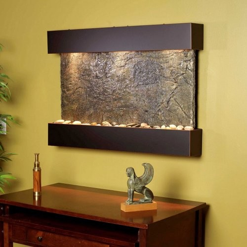adagio reflection creek wall fountain contemporary
