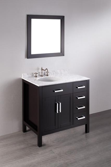 Bosconi Contemporary Bathroom Vanities contemporary