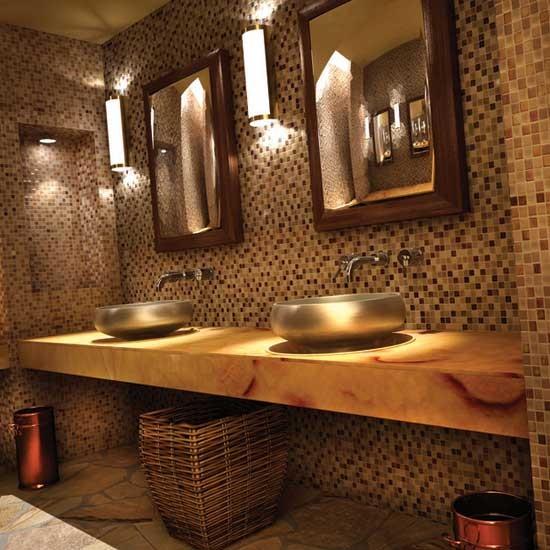 Dal tile coastal keystones sunset cove traditional for Daltile bathroom ideas