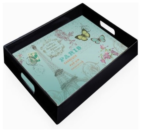 Charge it by Jay Paris Rectangle Serving Tray modern-serving-dishes-and-platters