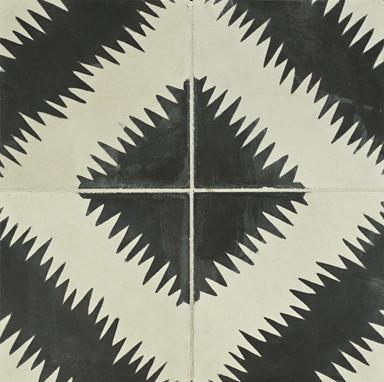 Paccha Concrete Tile - Ann Sacks Tile & Stone eclectic-floor-tiles