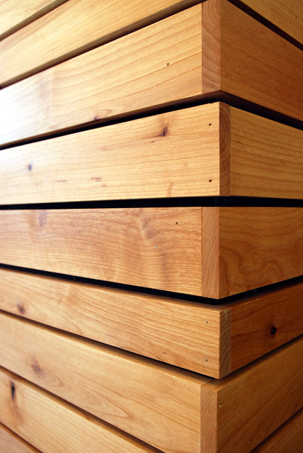 Wall Cladding - Modern - Hardwood Flooring - seattle - by Windfall Lumber