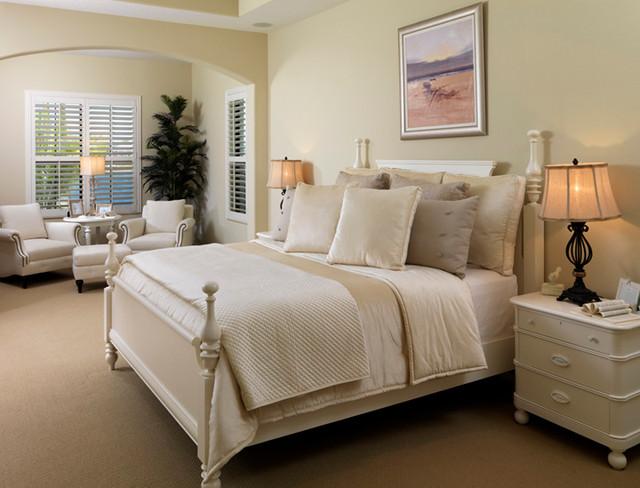 Coastal Revival traditional-bedroom