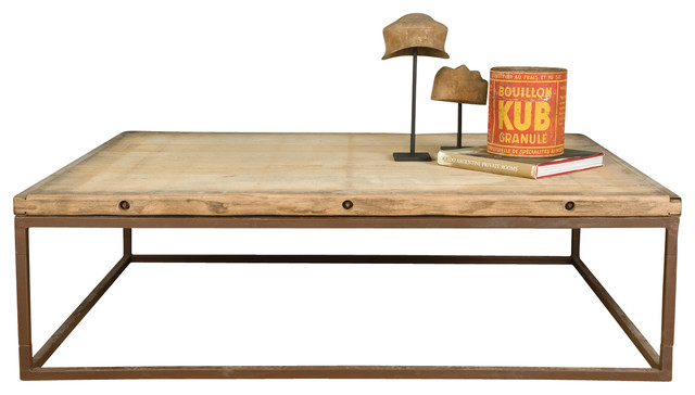 Brickmaker Grande Coffee Table Rustic Coffee Tables By Bobo Intriguing Objects