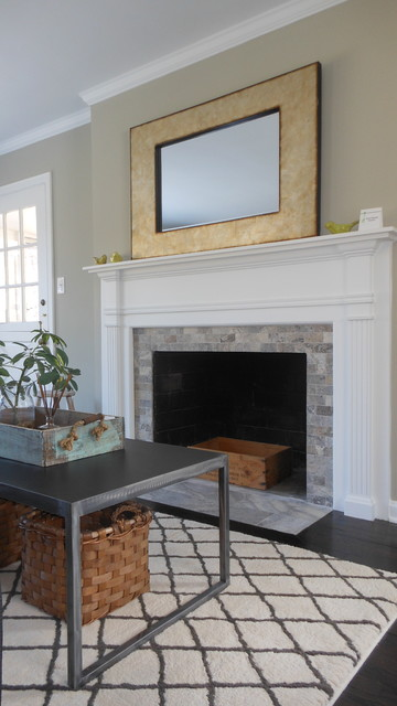 Briar Hill home remodel traditional-living-room