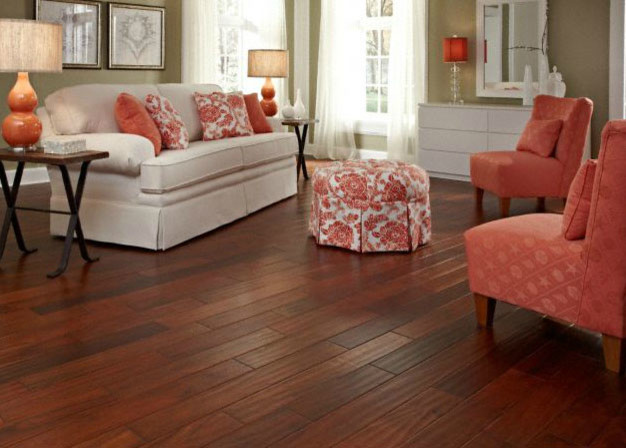 Virginia mill works golden teak acacia hardwood flooring for Virginia mills acacia