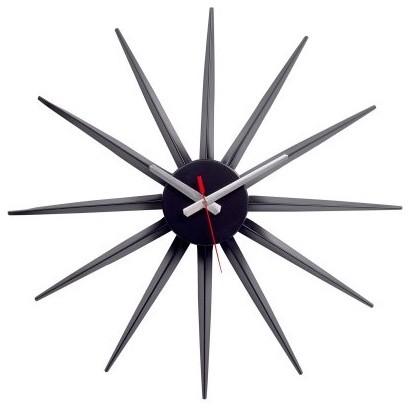 Starburst Clock - 22 diam.in. modern-clocks