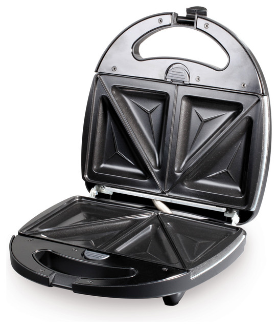 3-in-1 Black/ Stainless Steel Grill contemporary-outdoor-grills