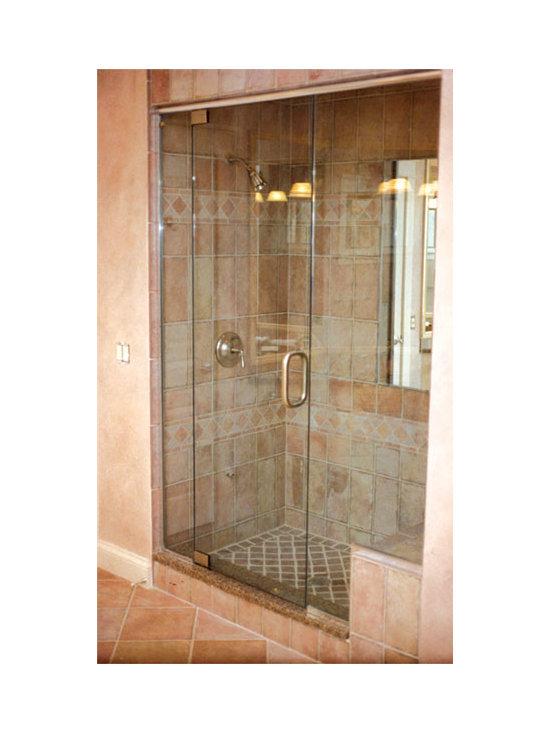 Shower Door Enclosures - Pivot Style Shower, SlideRight Doors.
