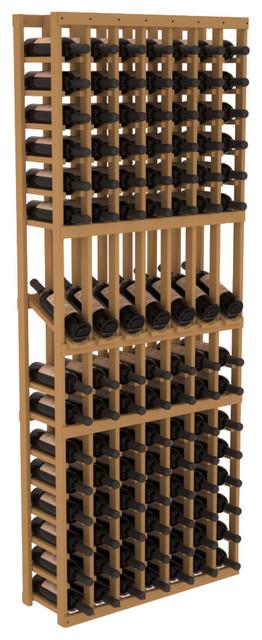 7 Column Display Row Wine Cellar Kit in Pine, Oak contemporary-wine-racks