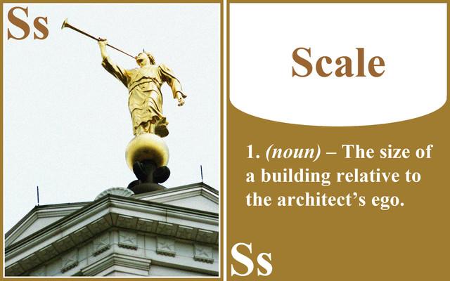 SCALE - Flashcard